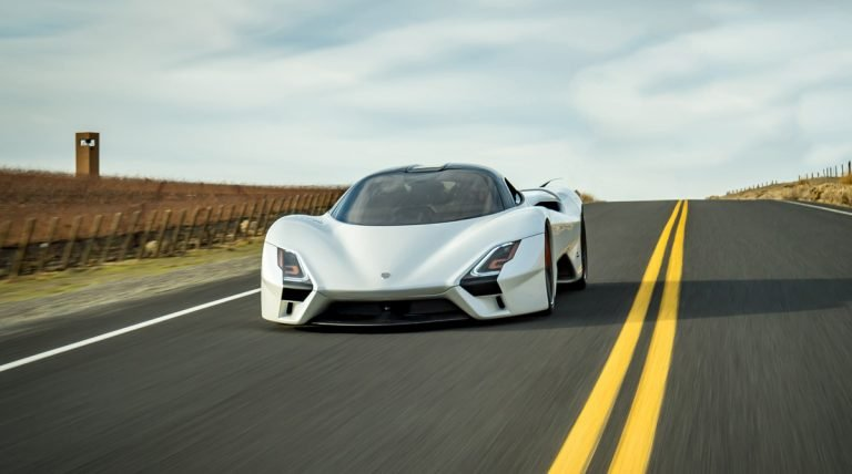 The Top 10 Fastest Cars in the World in 2020
