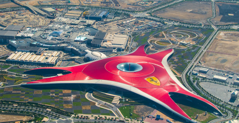 Ferrari World Abu Dhabi Wins World\u0027s Leading Theme Park for
